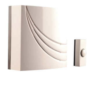 761 Wired Wall Mounted Electronic Doorbell with 8 Melodies