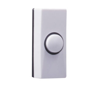 7910 Wired Doorbell Additional Chime Bell Push White