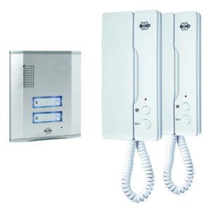 Audio Door Intercom For 2 Apartments