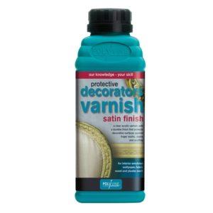 Decorators Varnish Satin 500ml