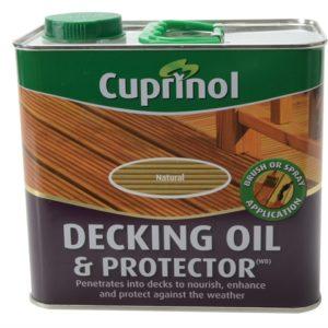 UV Guard Decking Oil Natural 2.5 Litre