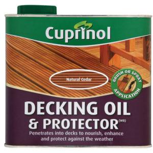 UV Guard Decking Oil Natural Cedar 2.5 litre