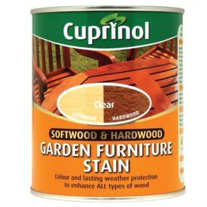 Softwood & Hardwood Garden Furniture Stain Clear 750ml