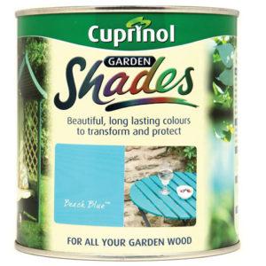 Garden Shades Beach Blue 1 litre