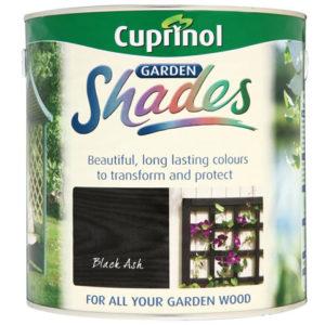Garden Shades Black Ash 2.5 litre