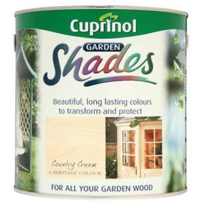 Garden Shades Country Cream 2.5 litre