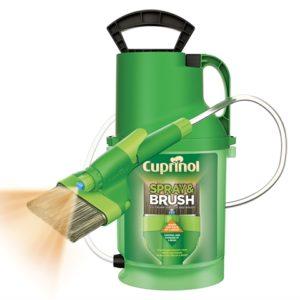 Spray & Brush 2 In 1 Pump Sprayer