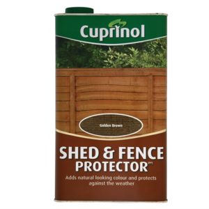 Shed & Fence Protector Gold Brown 5 Litre