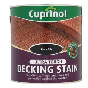 Anti-Slip Decking Stain Black Ash 2.5 Litre