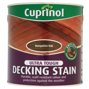Anti-Slip Decking Stain Hampshire Oak 2.5 Litre