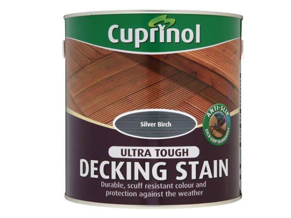 Anti-Slip Decking Stain Silver Birch 2.5 Litre