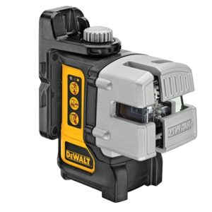 DW089KD 3 Way Self-Levelling Multi Line Laser With DE0892 Detector