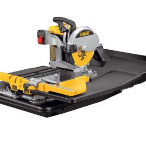 D24000 Wet Tile Saw with Slide Table 1600 Watt 240 Volt
