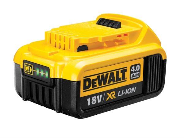 DCB182 XR Slide Battery Pack 18V 4.0Ah Li-ion