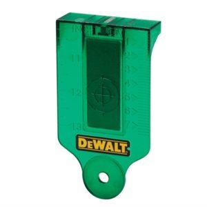 DE0730G Green Laser Target Card