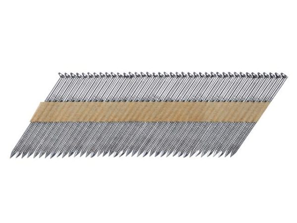 DNPT28R75 Galvanised 33° Angle Ring Shank Nails 2.8 x 75mm Pack of 2 200