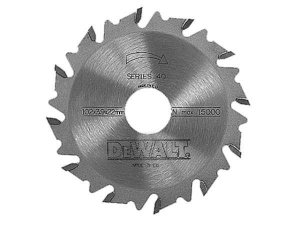 DT1306 Extreme Biscuit Jointer Blade 102 x 22 x 12 Tooth