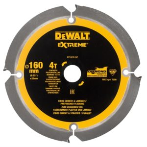Extreme PCD Fibre Cement Saw Blade 160 x 20mm x 4T