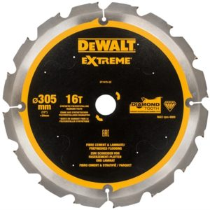 Extreme PCD Fibre Cement Blade 305 x 30mm x 16T