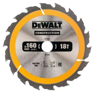 Construction Circular Saw Blade 160 x 20mm x 18T