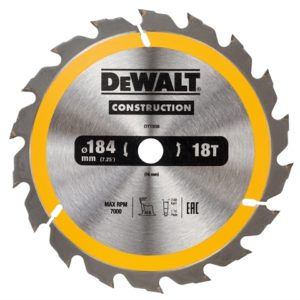 Portable Construction Circular Saw Blade 184 x 16mm x 18T