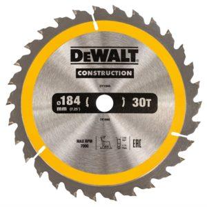 Portable Construction Circular Saw Blade 184 x 16mm x 30T