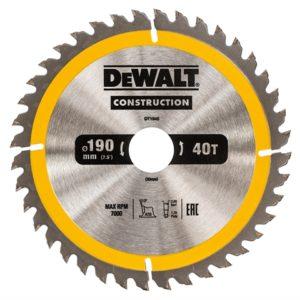 Portable Construction Circular Saw Blade 190 x 30mm x 40T