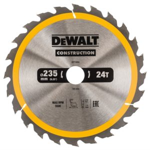 Portable Construction Circular Saw Blade 235 x 30mm x 24T