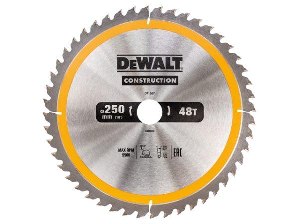 Stationary Construction Circular Saw Blade 250 x 30mm x 48T