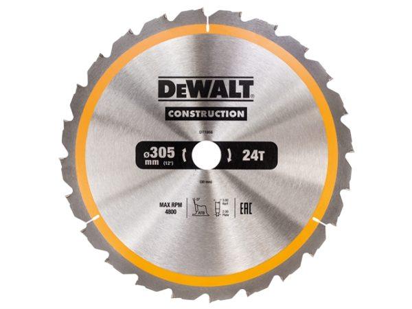 Stationary Construction Circular Saw Blade 305 x 30mm x 24T ATB/Neg