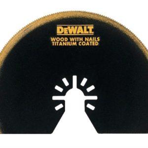 Multi-Tool Titanium Semi Circle Blade 100mm