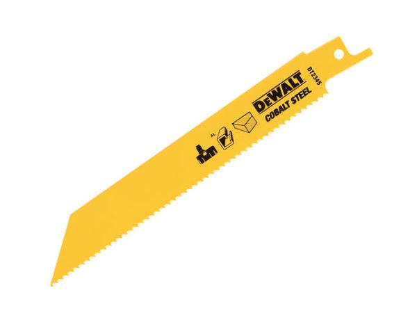 Cobalt Steel Sabre Blade General Purpose 152mm Pack of 5