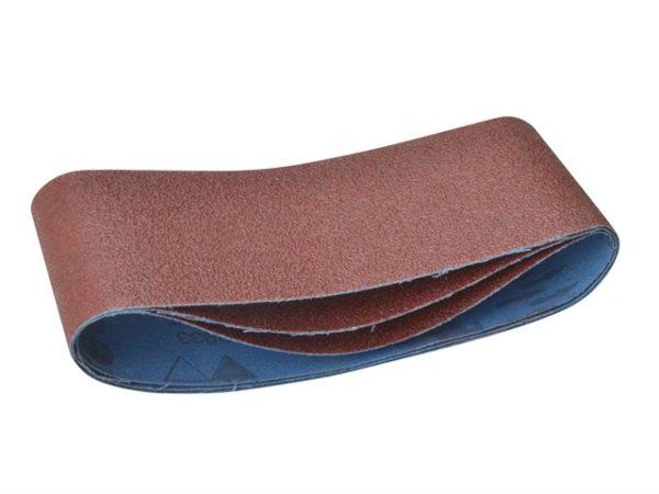 Sanding Belts 356 x 64mm 220g (Pack of 3)