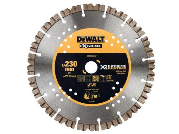 DT40260 Extreme Diamond Cutting Blade 230 x 22.23mm