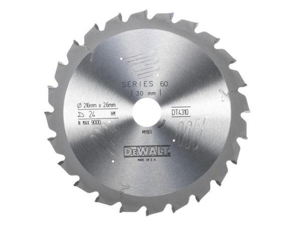 Series 60 Circular Saw Blade 216 x 30mm x 24T ATB/Neg