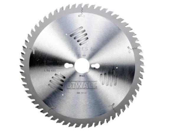 Series 60 Circular Saw Blade 250 x 30mm x 60T