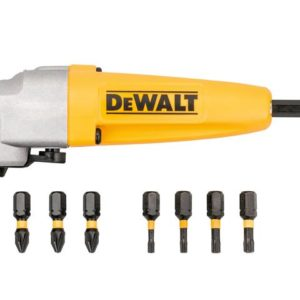 DT70619T Impact Rated Right Angle Drill Attachment & 8 Bits