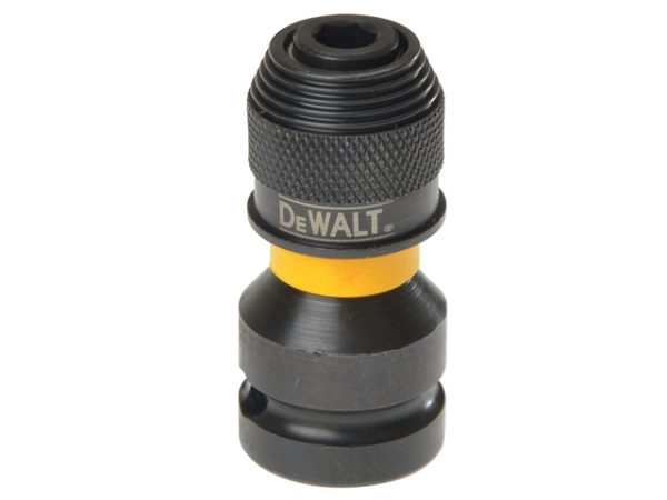DT7508 1/2in Drive to 1/4in Hex Impact Adaptor