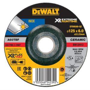 FlexVolt XR Metal Grinding Disc 125 x 6mm