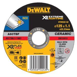 FlexVolt XR Metal Cutting Disc 125 x 1.1mm