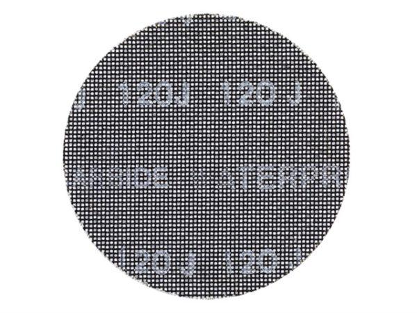 DTM3125 Mesh Sanding Discs 150mm 120G (Pack 5)