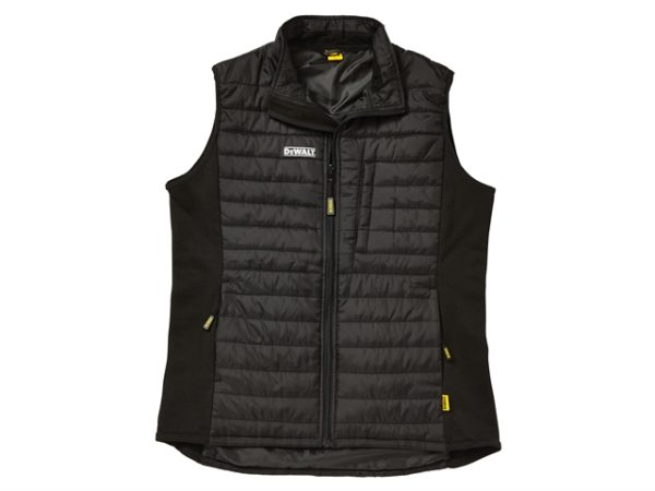 Force Black Lightweight Padded Gilet - XL (48in)
