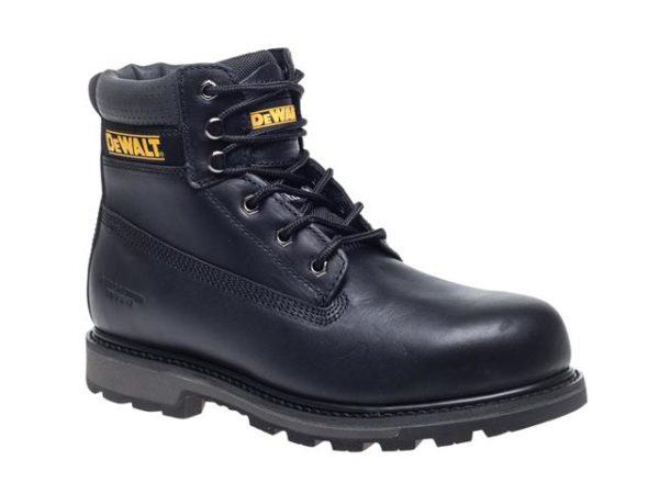 Hancock SB-P Black Safety Boots UK 9 Euro 43