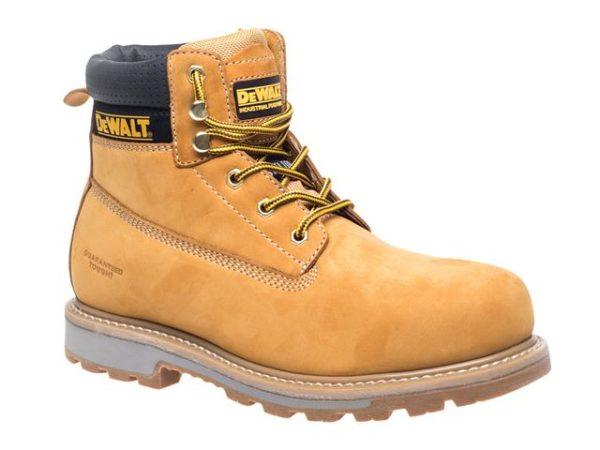 Hancock SB-P Wheat Safety Boots UK 8 Euro 42