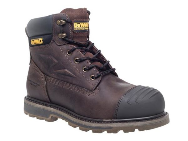 Houston S3 Brown Safety Boots UK 5 Euro 38