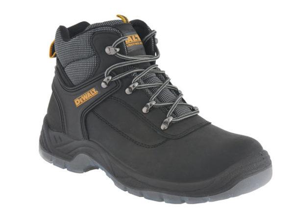 Laser Safety Hiker Black Boots UK 12 Euro 46