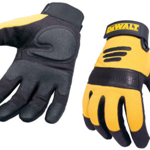 Synthetic Padded Leather Palm Gloves