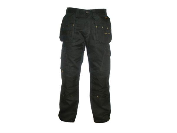 Pro Tradesman Black Trousers Waist 42in Leg 33in