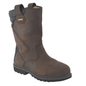 Classic Rigger Brown Safety Boots UK 11 Euro 45