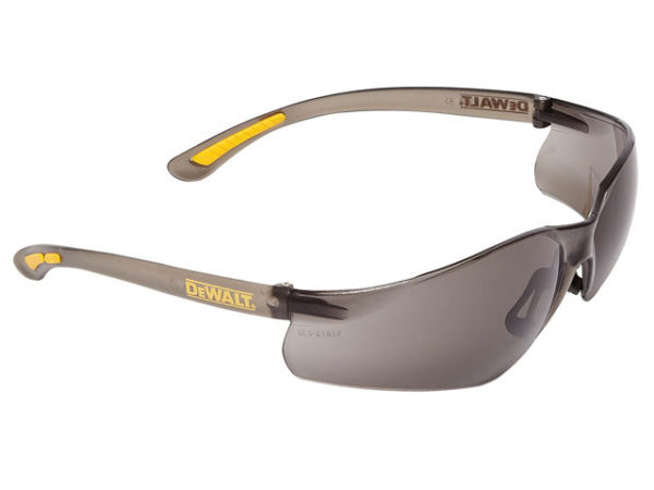 Contractor Pro ToughCoat™ Safety Glasses - Smoke